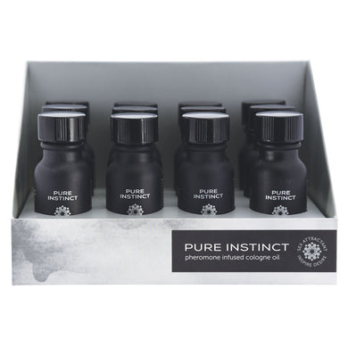 Pure Instinct Pheromone Cologne Oil for Him 12 Pc Display 15 ml JEL4201-99