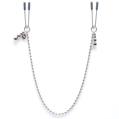 Fifty Shades Darker at My Mercy Chained Nipple Clamps LHR-63952