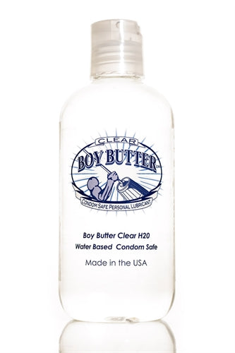 Boy Butter Clear H2O - 8 Oz. BBC08