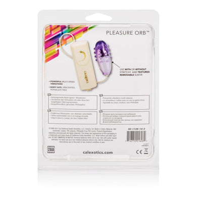 Pleasure Orb Vibrating Egg - Purple SE1126143