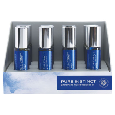 Pure Instinct Pheromone Fragrance Oil True Blue Roll on 12 Pc Display JEL4000-99