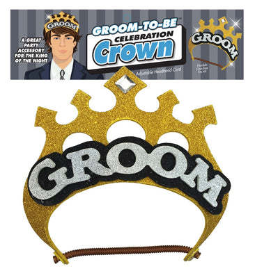 Groom-to-Be Celebration Crown LG-NVC049