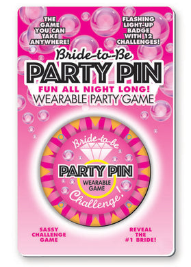 Bride to Be Party Pin LG-BG054