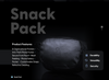 Snack Pack (Pre-Order) - Lunchbox