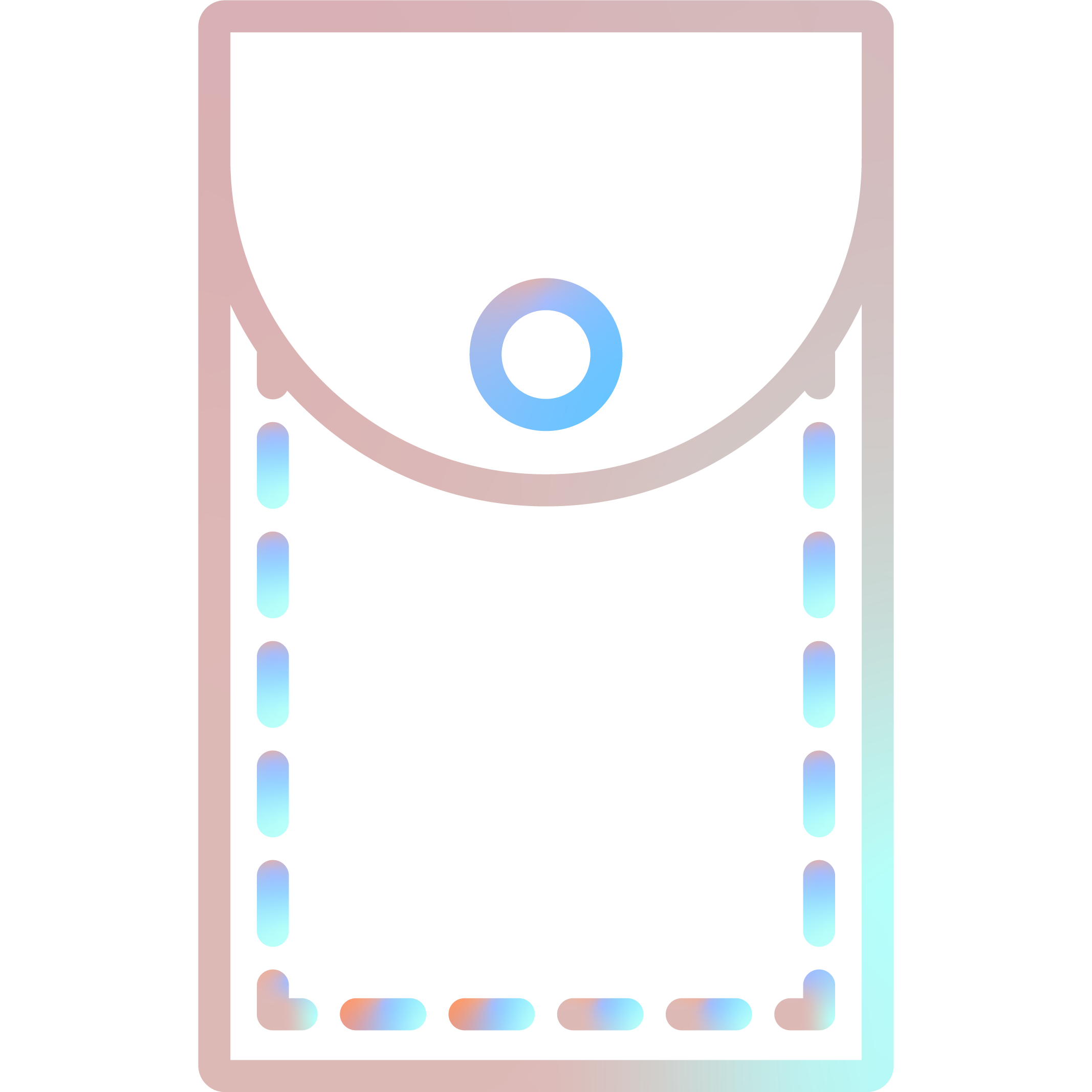 Side-Mesh Pockets Icon