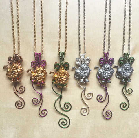 Wirewrap Rat Fink Necklace