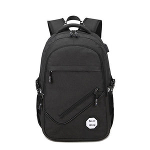 MAGIC UNION 2017 Men Oxford Fabric Backpack College Student Backpacks Usb Charging Bag Waterproof Laptop Backpack-Backpack-smartbackpac