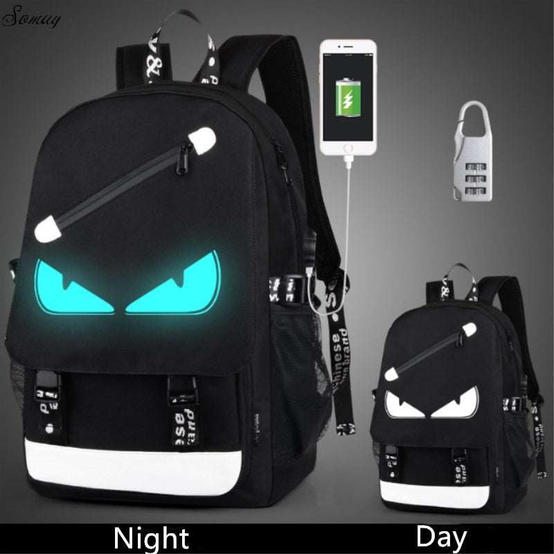 84fa2a98c949 Anti Theft backpack USB charging teen Laptop Backpacks For Teenagers Female  Mochila Travel backpack School bags