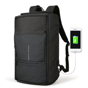 Mark Ryden New USB Recharging High Capacity Backpack 180 Degree Travel Bag Fit for 17.3 Inches Laptop New Design Bag-Backpack-smartbackpac