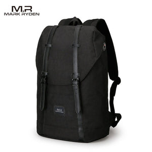 2018 Mark Ryden Men Backpack Student School Bag Large Capacity Trip Backpack USB Charging Laptop Backpack for14inches 15inches-Backpack-smartbackpac