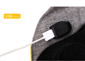14 Inch Waterproof Oxford USB Charging Men's Women Backpack Mochila for Womens School Bag Pack Laptop Notebook XD Design Bobby-Backpack-smartbackpac