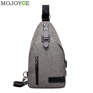 Classic Unisex Crossbody Bag Fashion Chest Bag for Men Women Shoulder Bags for Teenagers USB Charging Chest Pack Messengers Bags-Backpack-smartbackpac