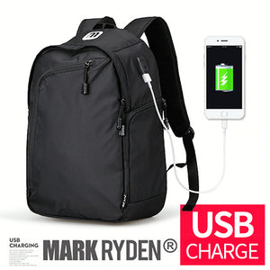Mark Ryden Multifunction USB charging Men 14inch Laptop Backpacks For Teenager Fashion Male Mochila Leisure Travel backpack-Backpack-smartbackpac