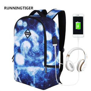 RUNNINGTIGER Laptop Backpack for Men Women USB Charging Waterproof Large Capacity Anti theft Travel Backpack Male-Backpack-smartbackpac
