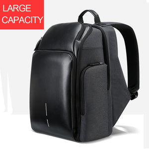BOPAI 2018 New Men Backpack USB Charging Bag 15.6inch Laptop Backpack Anti theft High Capacity Waterproof Men Travel Backpack-Backpack-smartbackpac
