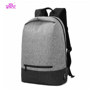 TZY Men/women Anti Theft Backpacks Waterproof Oxford Laptop Backpack School Bags Casual Travel Large Capacity USB Charge Bag-Backpack-smartbackpac