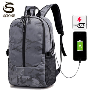 2018 Special Hot Waterproof Large 17 Inch Laptop Bag Man USB Design Backpack Travel Backpack women School Bags-Backpack-smartbackpac