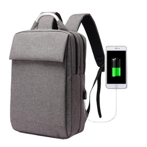 2018 New Arrivals USb Recharging Anti-thief Backpack Men Bag-Backpack-smartbackpac