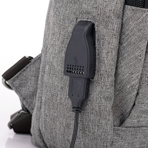 2018 Fashion casual small backpack school bag for teenagers design frame USB Charge Computer Backpacks Anti-theft-Backpack-smartbackpac