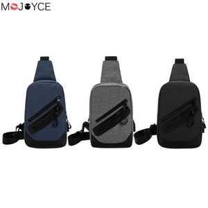 2018 New Arrival Crossbody Bags Men Anti-theft Chest Pack Summer Short Trip Messengers Bag Canvas iPad Storage Bag USB Charging-Backpack-smartbackpac