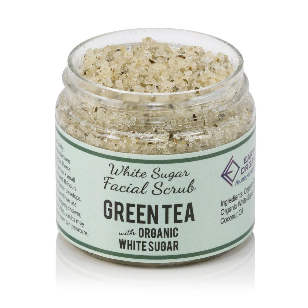 Green Tea Facial Scrub - Earth's Organics