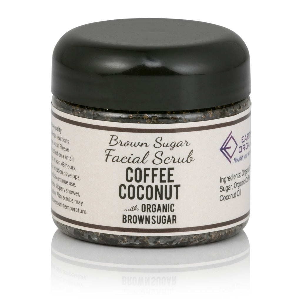 Coffee Coconut Face Scrub - Earth's Organics