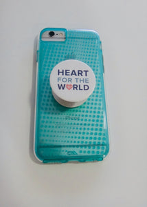 "Pop Sockets ""Heart for the World"""