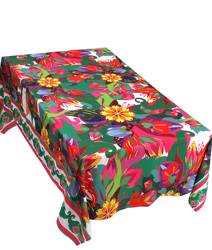The Jungle Flower Table Cover