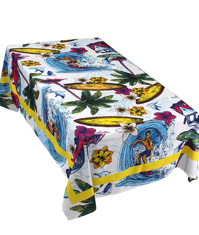 The Beach Life Table Cover