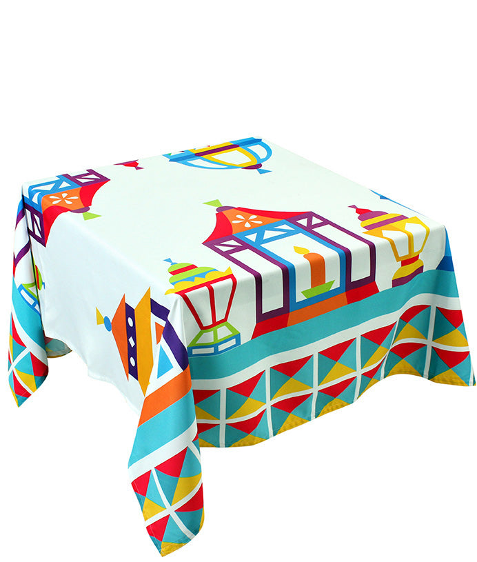The Colourful Fawanis table cover