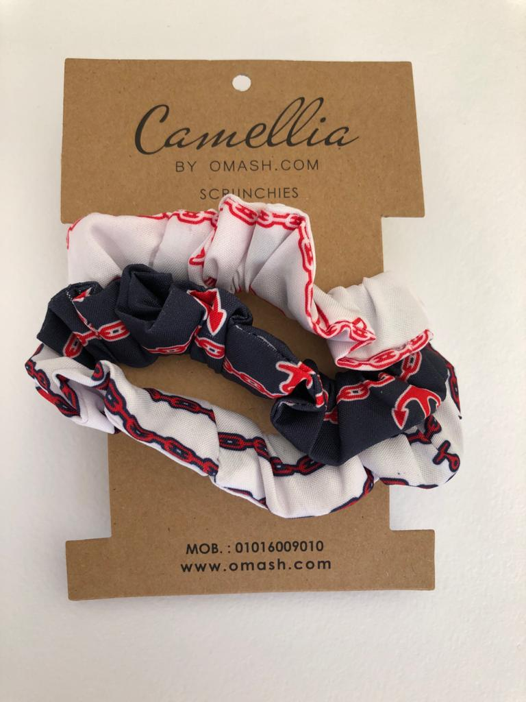Miami Scrunchies Set (Pack of 3)