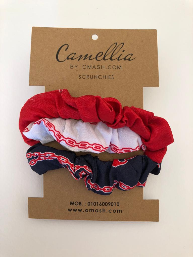 Ohio Special Scrunchies Set (Pack of 3)