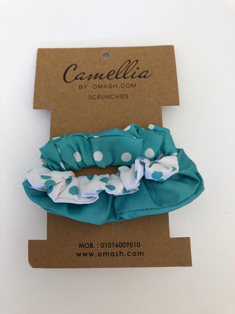 Hawaii Clouds Scrunchies Set (Pack of 3)