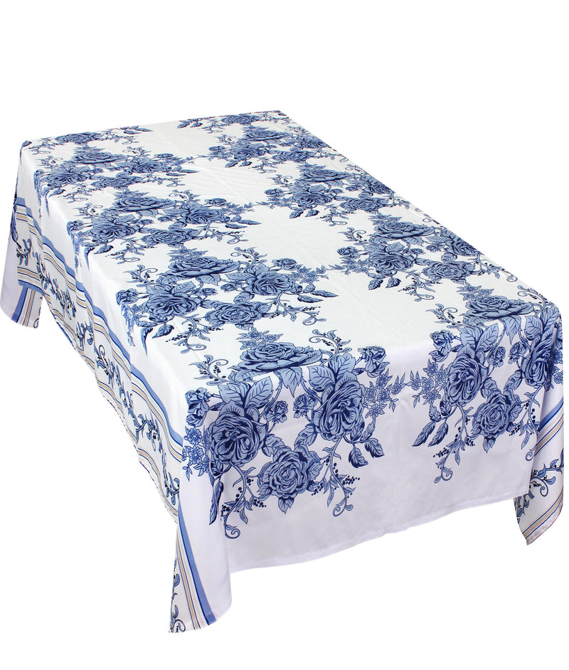 The Blue Flowers Table Cover