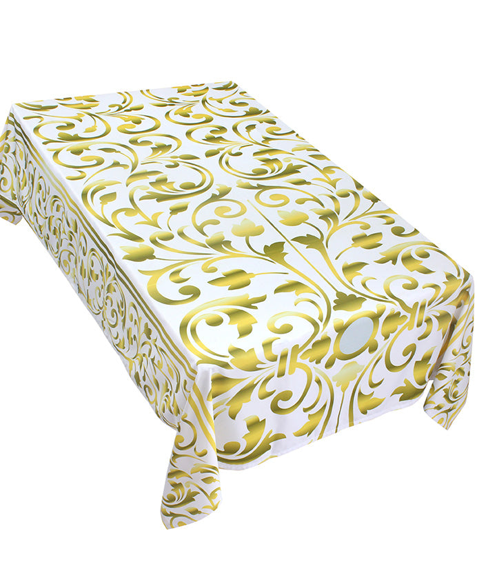 The Golden Flowers Table Cover