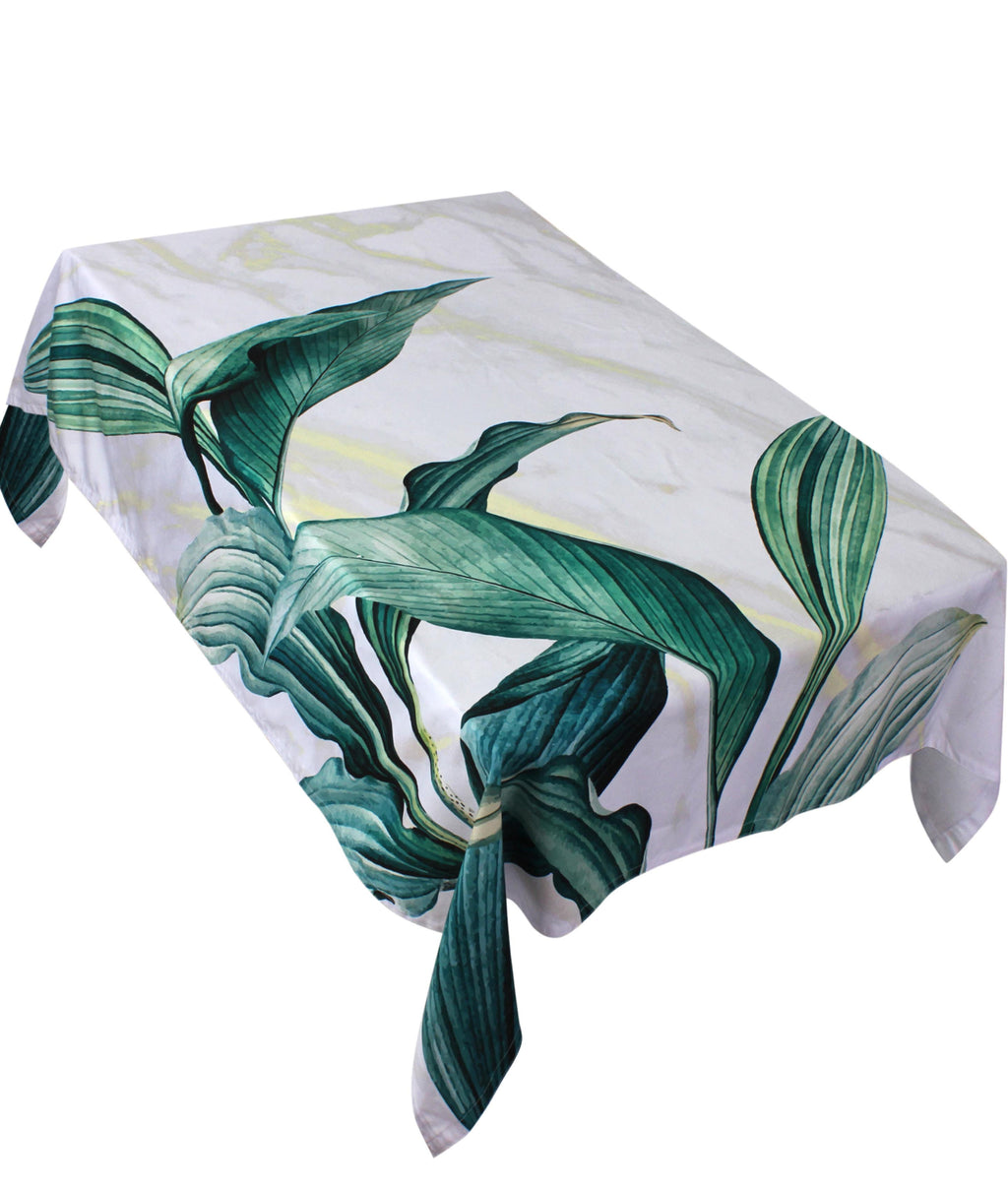 The Green Leaf Table Cover