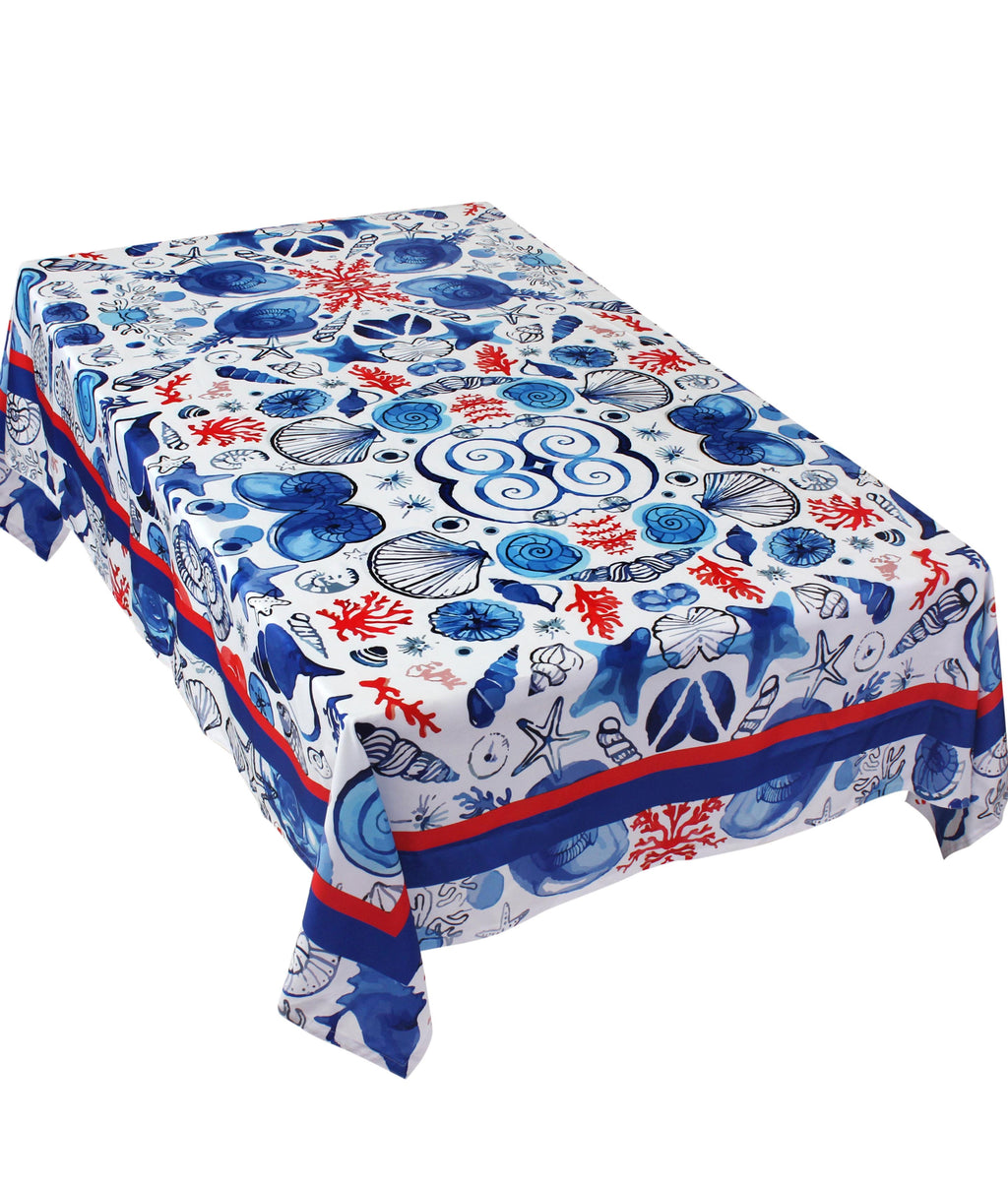 The Ocean Life Table Cover