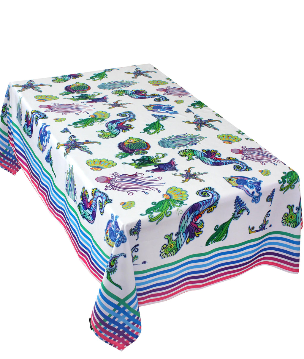 The Ocean Tribe Table Cover