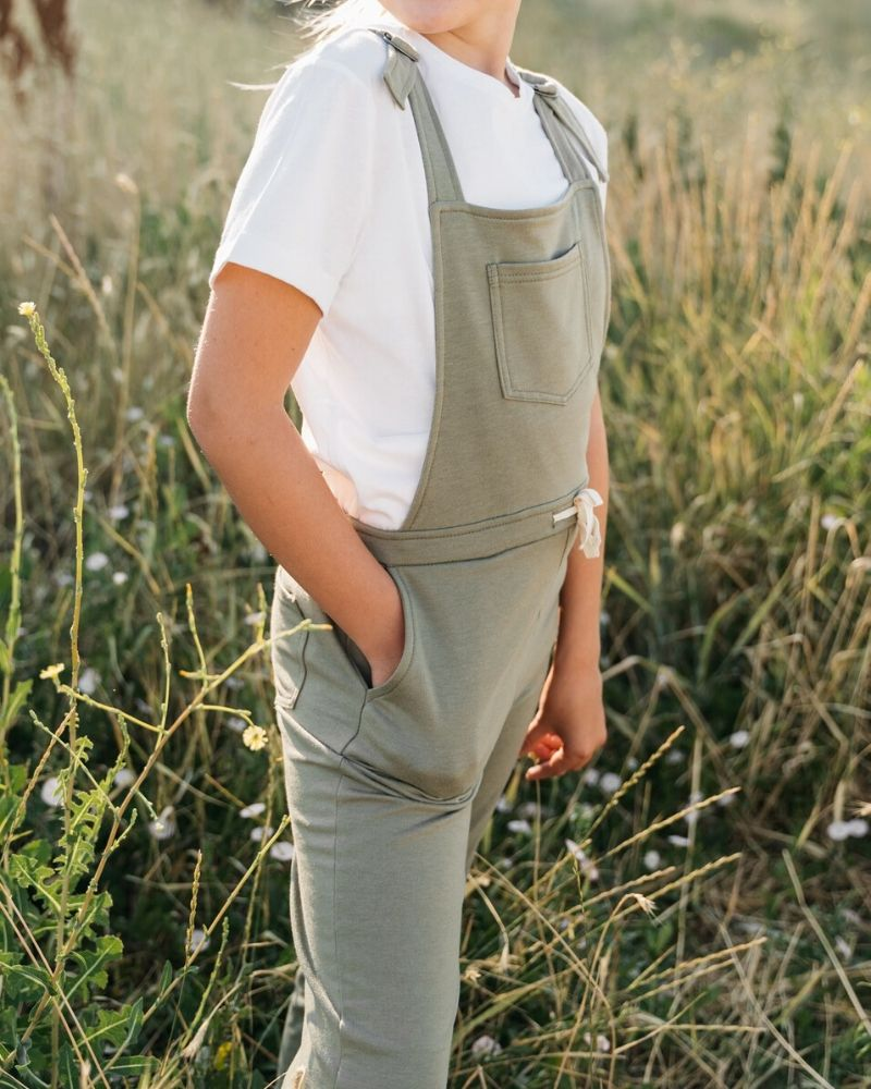 Jocelyn Overall Jumpsuit - Hunter