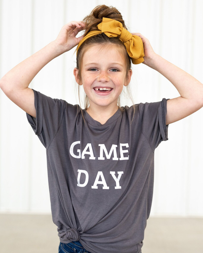Game Day Graphic Tee - Graphite