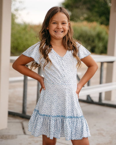 Betsy Breezy Dress - Blue Bird