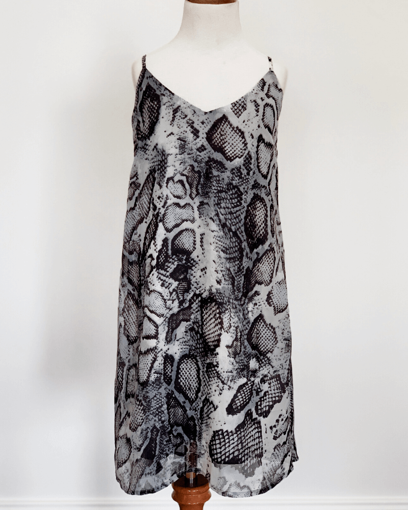 Savanah Sun Dress - Snakeskin