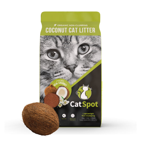 CatSpot: Non-Clumping Formula, 100% All-Natural