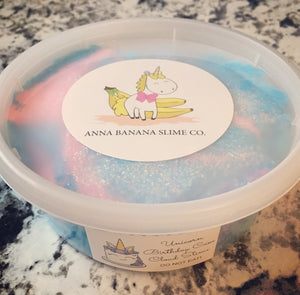Unicorn Birthday Cake Cloud Slime *scented* - 8 ounces