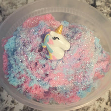 Load image into Gallery viewer, Unicorn Birthday Cake Cloud Slime *scented* - 8 ounces