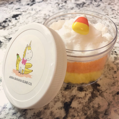 Candy Corn Cloud Slime *scented*