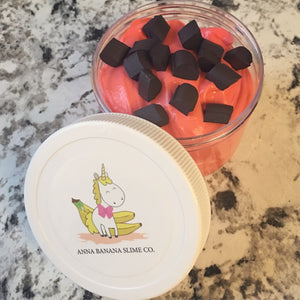 Chocolate Covered Strawberry Valentine Butter Slime *scented*