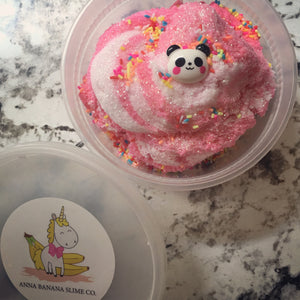Panda Party Cloud Slime *scented* - 8 ounces