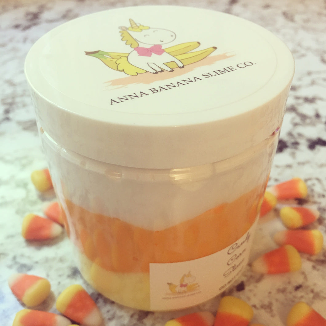 Candy Corn Butter Slime *scented*