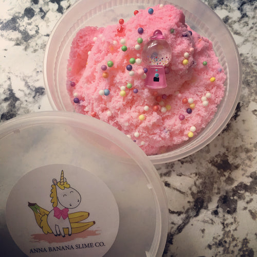 Bubblegum Cloud Slime *scented* - 8 ounces